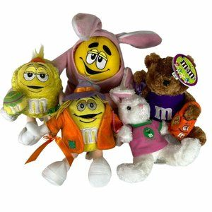 M&Ms Kids Multicolor Candy Special Plush Stuffed S